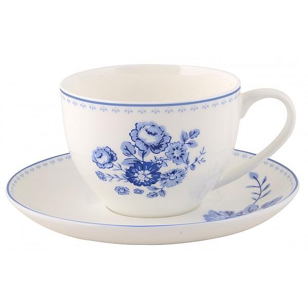 Kaffekopp/Fat Blue Rose