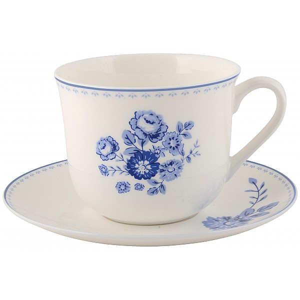 Teetasse / Untertasse Blue Rose