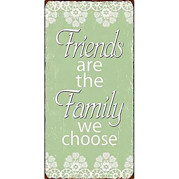 Magnet Friends are the family we choose - Green