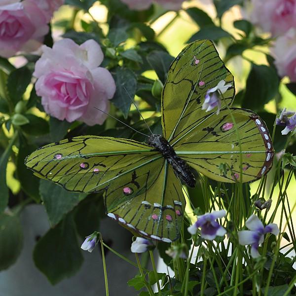 Butterfly Stick Oriental - Green