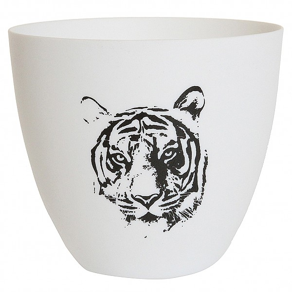 Candlecup / Candle Holder Tiger