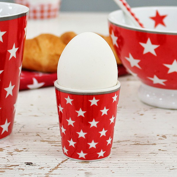 Egg Cup Star - Red
