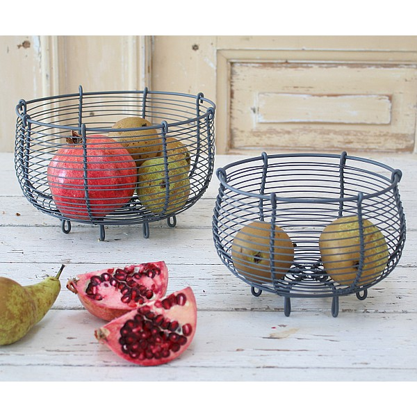 Wire Baskets 2 pcs