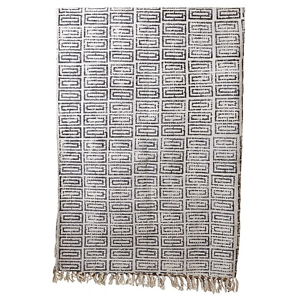 Rug MYS Black / White - 170 X 230 Cm - Affari