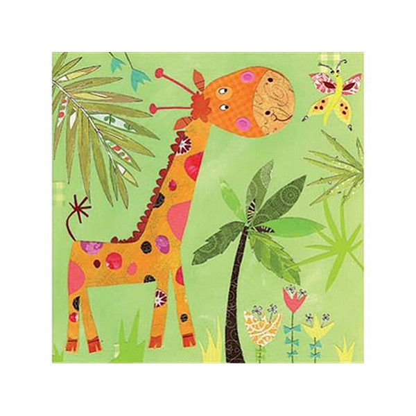 Servetter glad Giraff