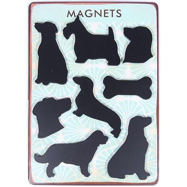 Magneter/Kylskåpsmagneter Hundar