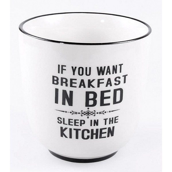 Stor Kopp If you want breakfast in bed