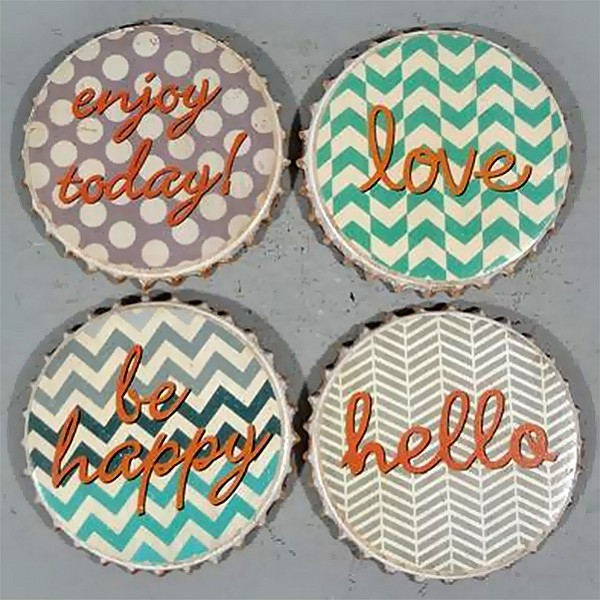 Coasters Enjoy Love Happy Hello
