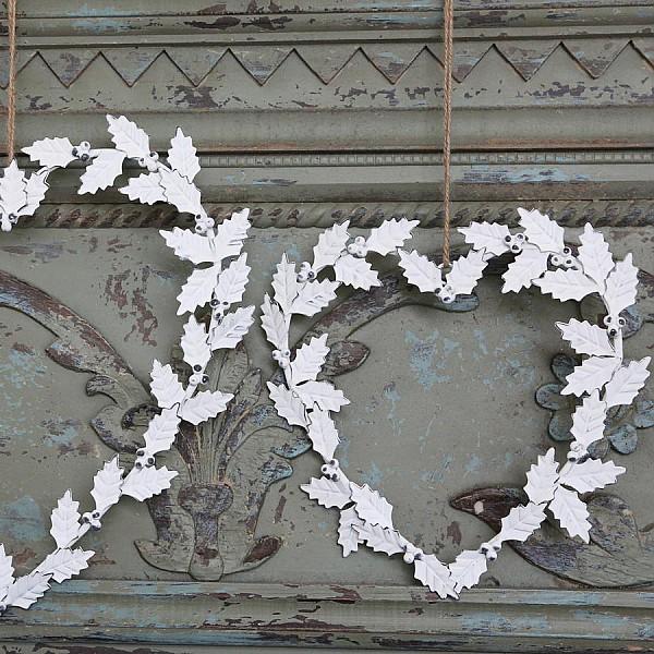 Krans Hjärta Antikvit - Liten