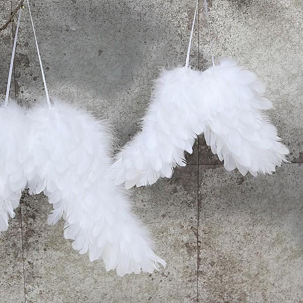 Engelsflügel Weiß - Klein