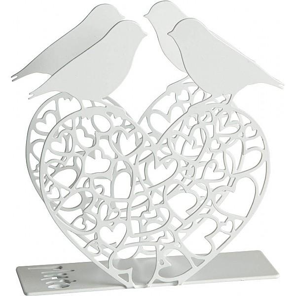 Servettställ Fågelhjärta