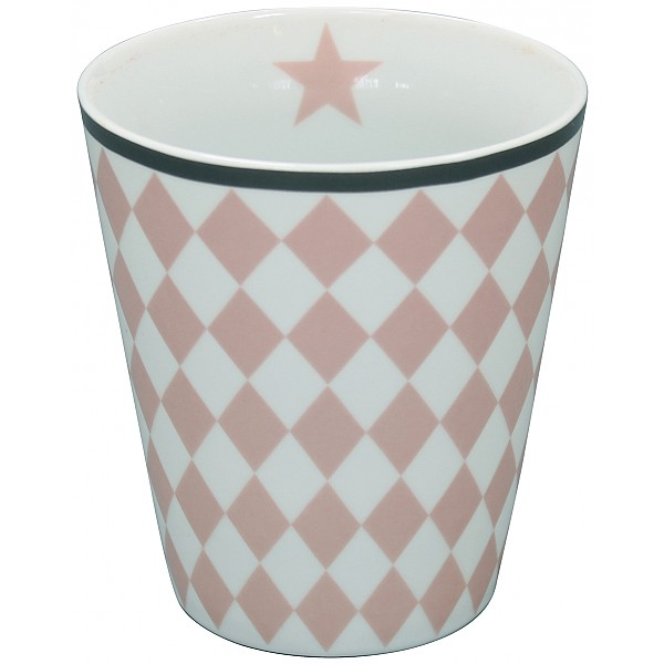 Happy Mug Harlequin - Pink