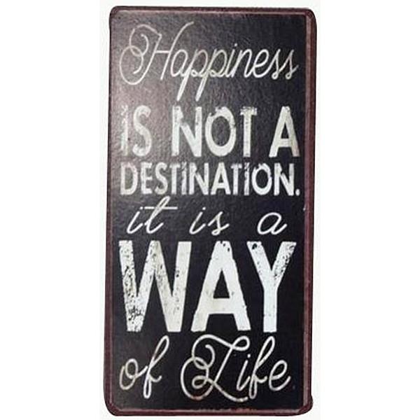 Magnet Glück ist kein Ziel