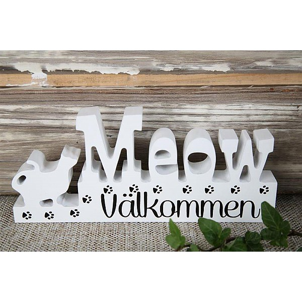 Sign Meow Välkommen