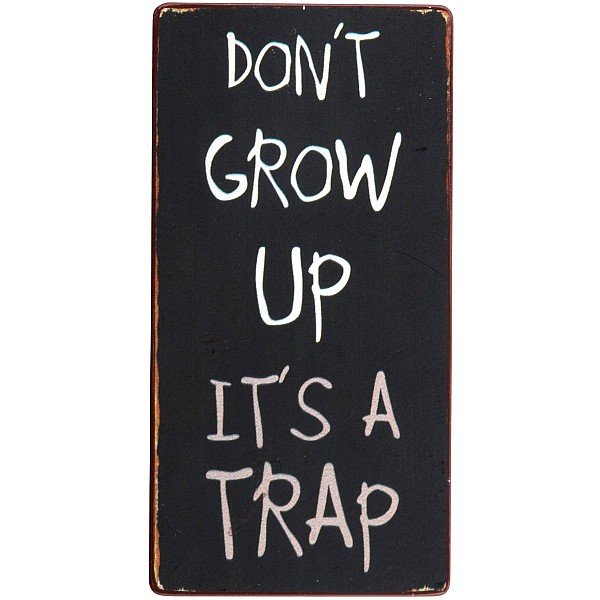 Magnet Don't grow up it's a trap
