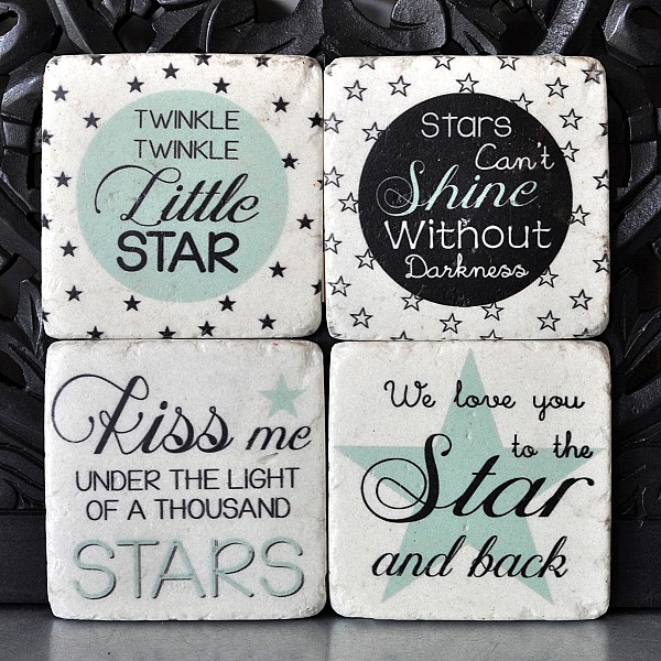 Coasters Star Little star Kiss Shine