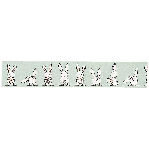 Washi Tape Rabbit - Light Moss Green