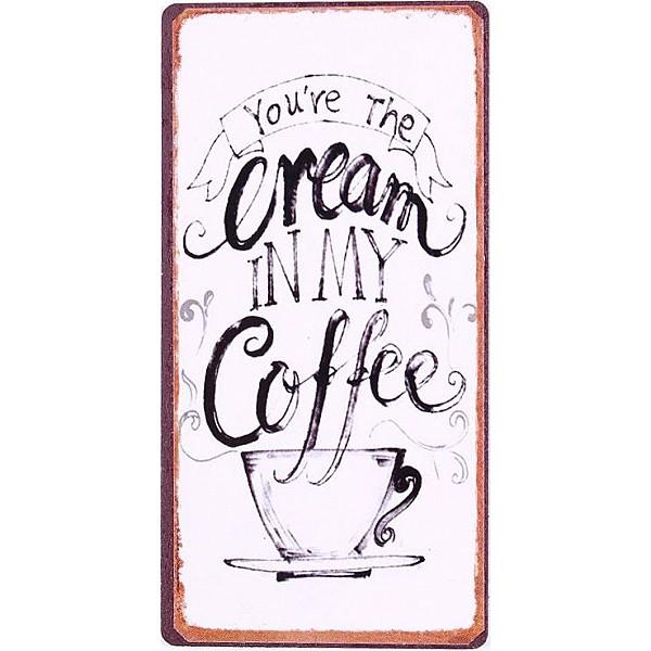 Magnet Du bist die Sahne in meinem Kaffee