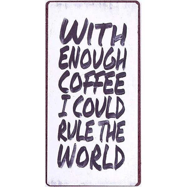 Magnet Mit genug Kaffee