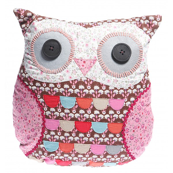 Owl Cushion Emmeline