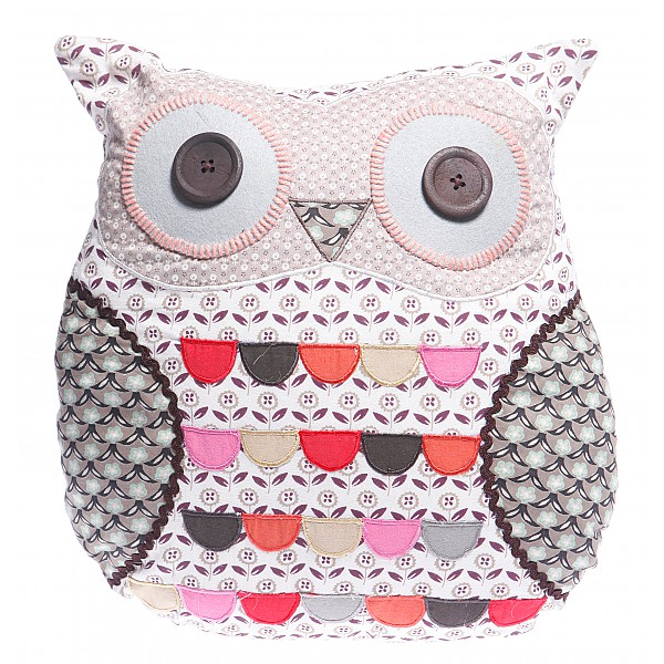 Owl Cushion Dave