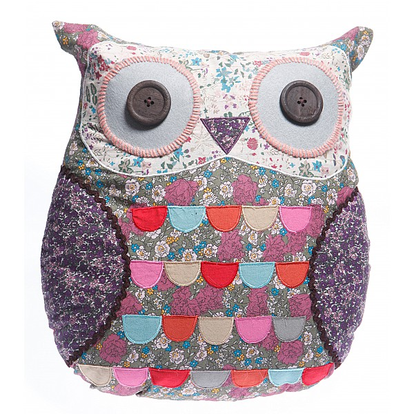 Owl Cushion Molly