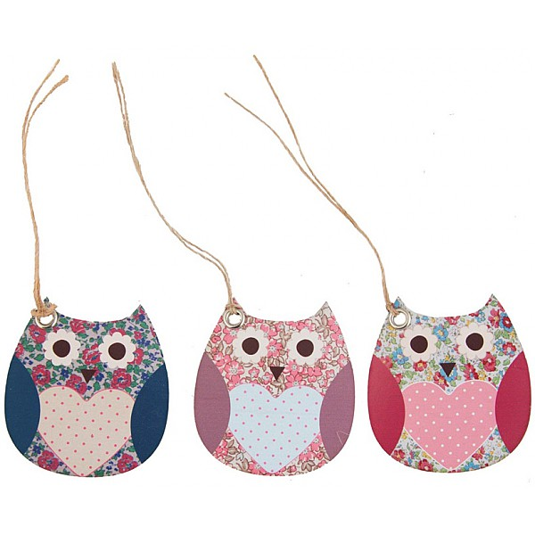 Gift Tags Owl - 15 pcs