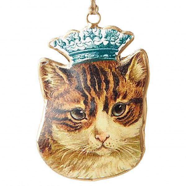 Katze mit einer Krone BEATRIX