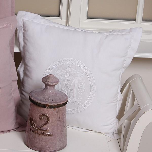 Cushion Cover Molly - White