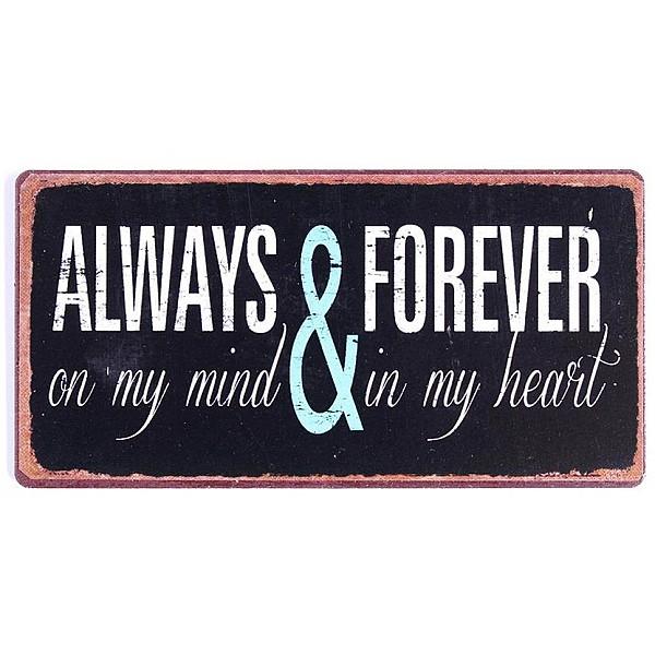 Magnet/Kylskåpsmagnet Always & Forever