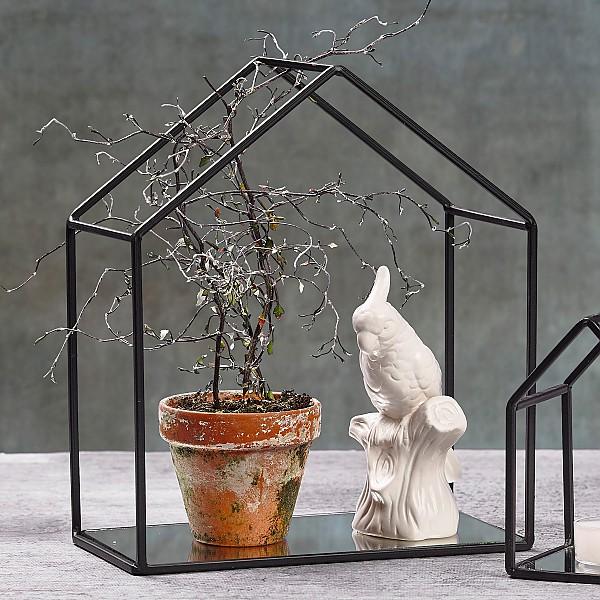 Hus i metall/Ljushus - Stor