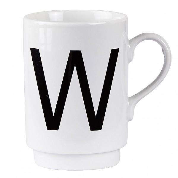 Letter Mug W