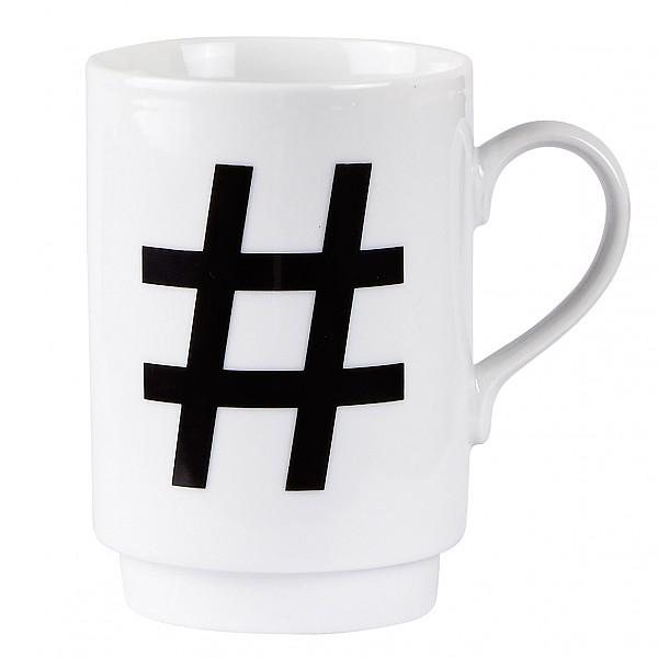 Mug # Hashtag