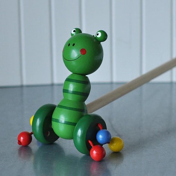 Toy Frog ziehen