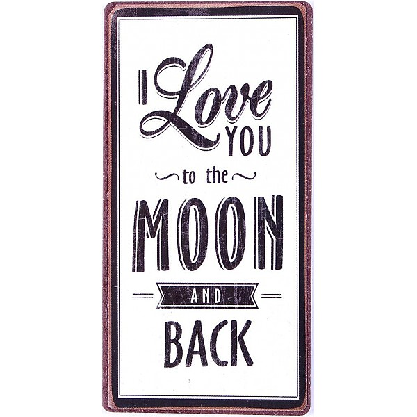 Magnet I love you to the moon and back