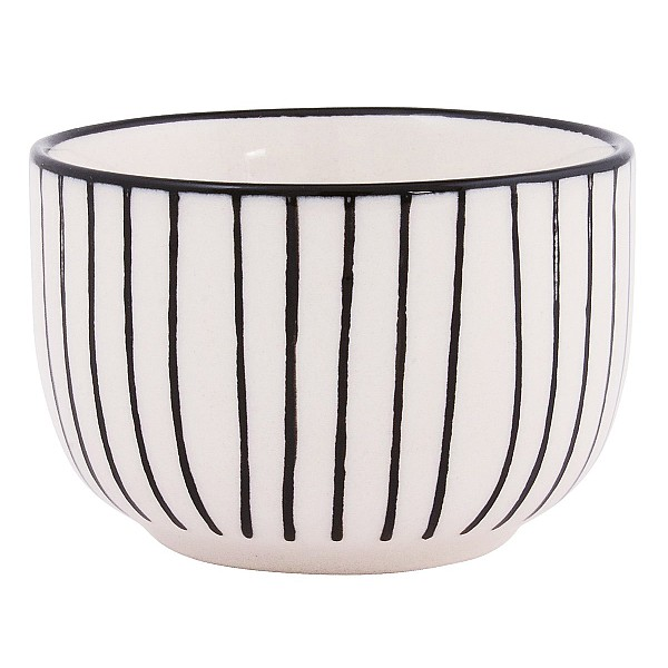 Bowl Casablanca Mini - White / Black
