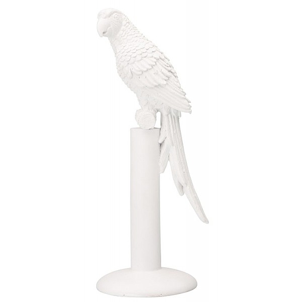 Staty Papegoja Bianca - Vit