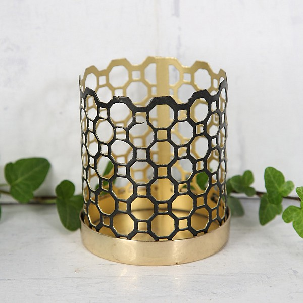 Candle Holder Chic Black - Mini