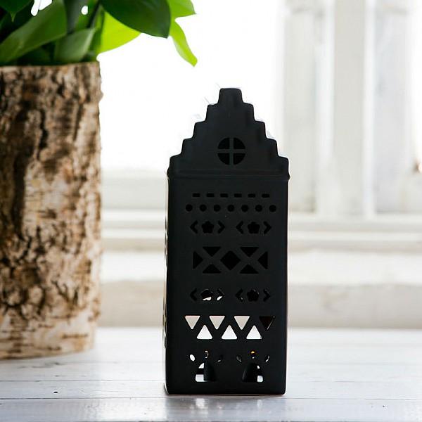 Majas Keramikhus Aztek Svart - Liten
