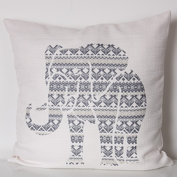 Cushion Cover Saba - Grey