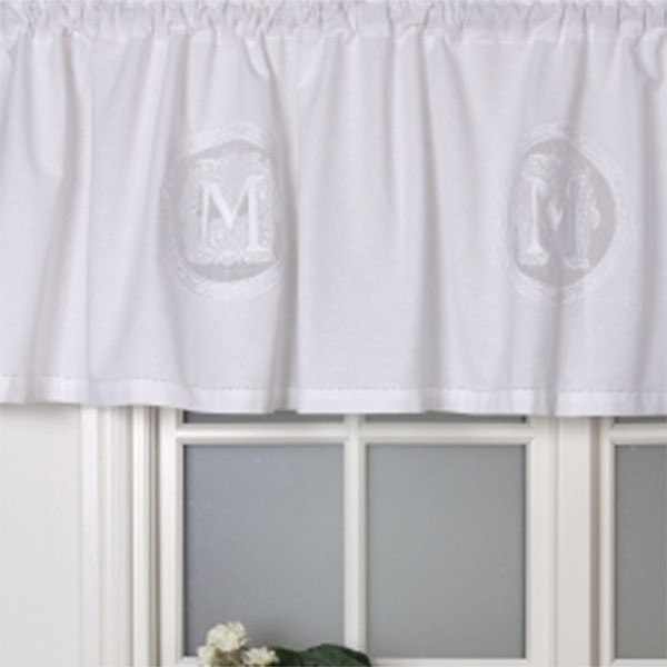 Valance Molly By the metre - White