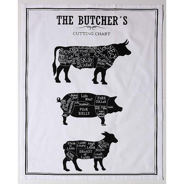 Kökshandduk Butcher