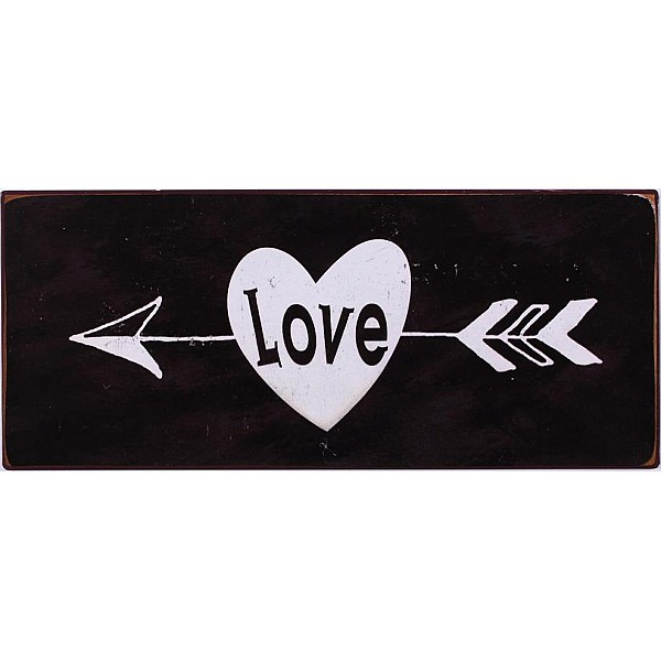 Blechschild Liebe