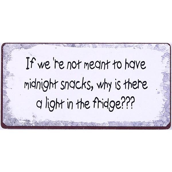 Magnet/Kylskåpsmagnet Midnight Snacks