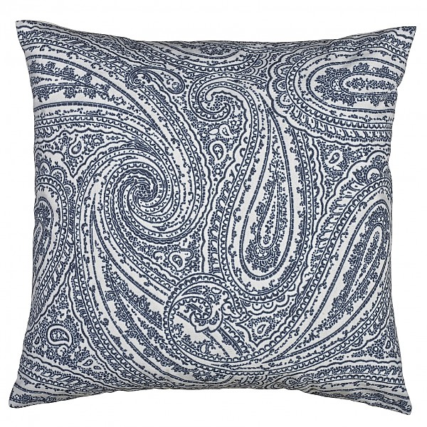 Cushion Cover Paisley - Blue