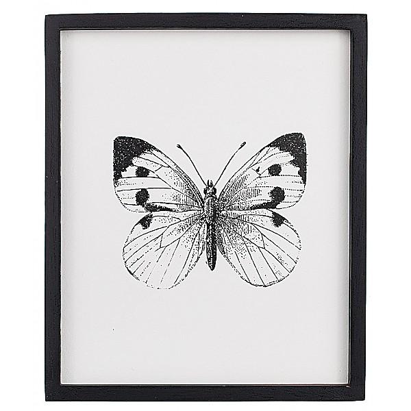 Tavla Insekt Fjäril - 25 x 30 cm