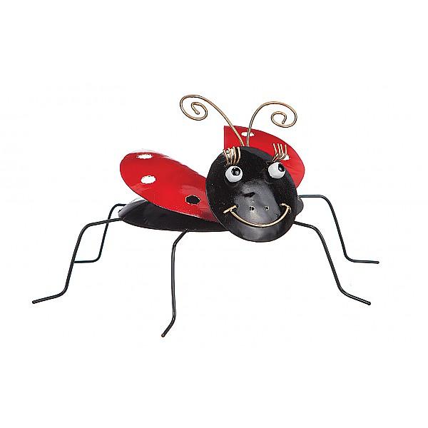 Ladybug in wrought iron - Small