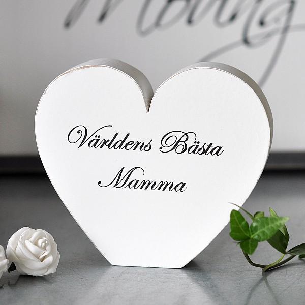 Hjärta Världens bästa Mamma - Liten