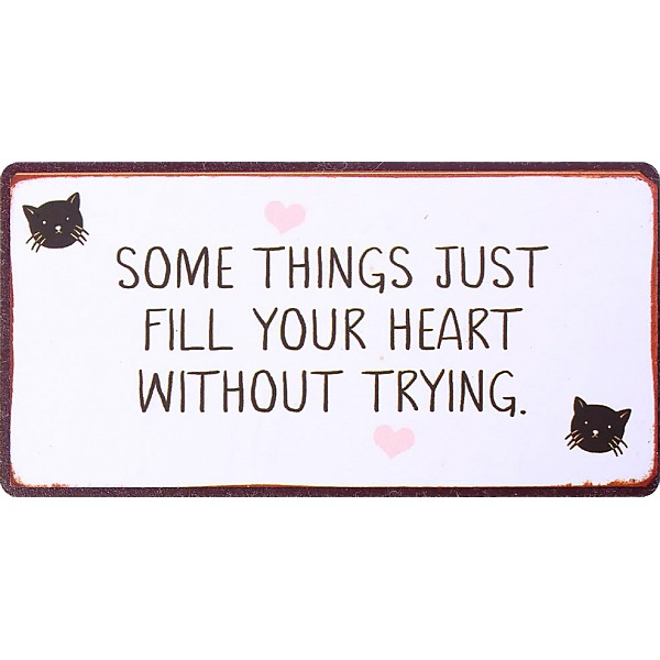 Magnet Some things just fill your heart - Cat