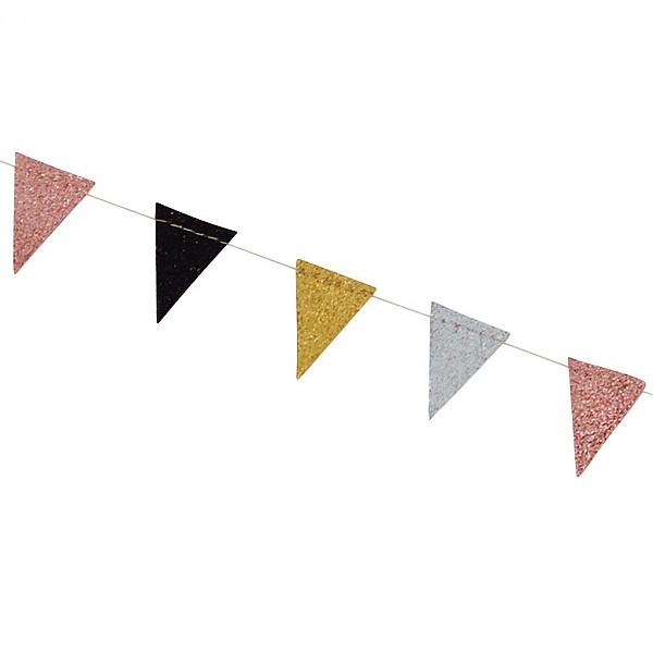 Girlang Vimpel Små flaggor - Mix
